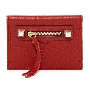 🆕Rebecca Minkoff Leather Card Case